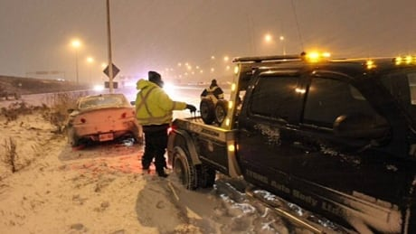 'Slow down': AMA urges caution after string of close calls with tow trucks thumbnail