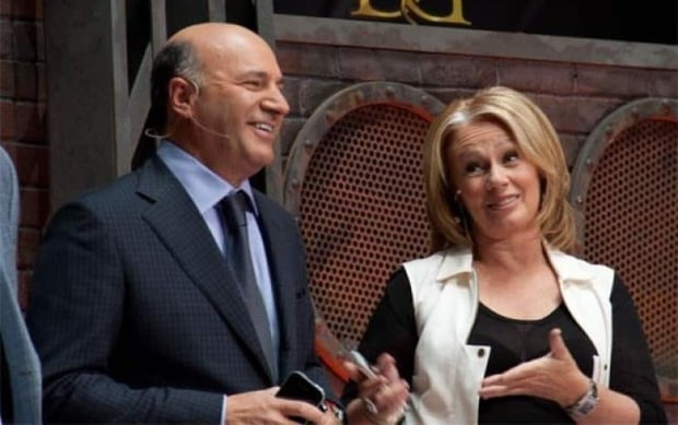 Kevin O'Leary and Arlene Dickinson