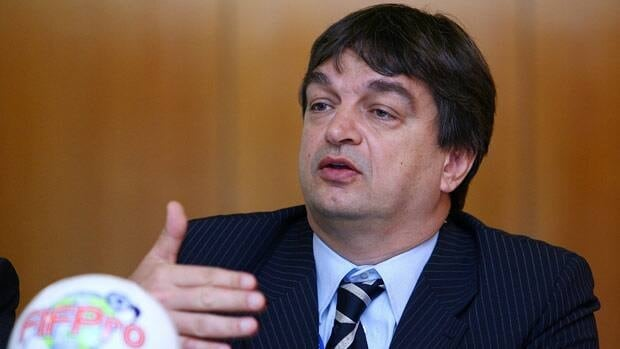 Jerome Champagne, seen in 2008, is a candidate to replace Sepp Blatter.