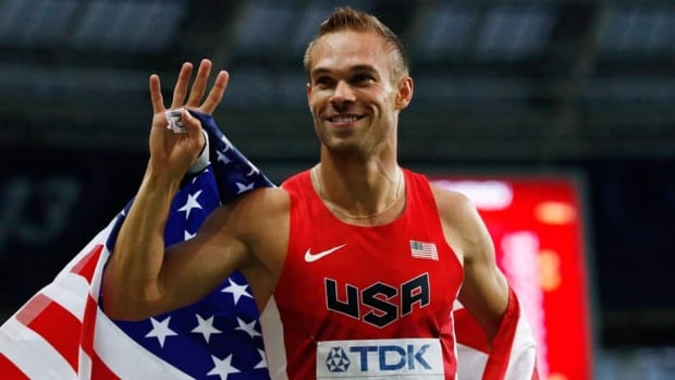 American runner Nick Symmonds voiced his support for gay rights prior to the world track and field championships, but has declined to comment further in Moscow for fear of facing jail time.