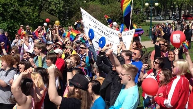 Tens of thousands of people attend the Winnipeg Pride parade and festival every summer.