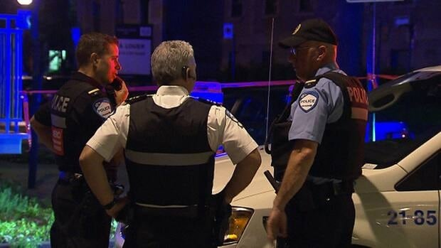 Police quickly located a suspect after a number of witnesses called in descriptions to emergency dispatchers.