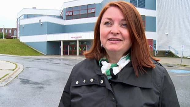 Cara-Leigh Wyllie, president of the Corner Brook Minor Hockey Association, is concerned about rising rental fees at the Pepsi Centre.