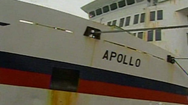 The MV Apollo has not been able to bring passengers in Newfoundland to the mainland since last week.