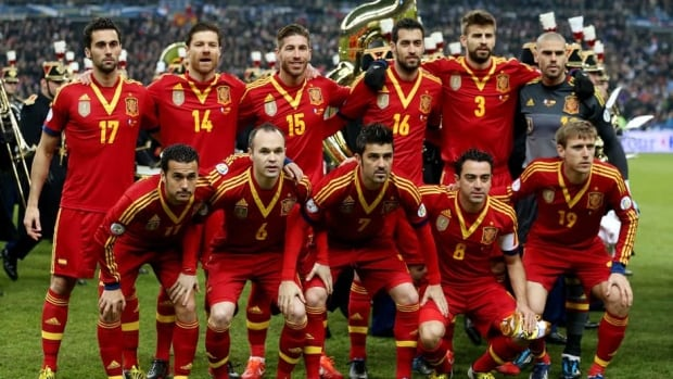 The Spanish team will use the Confederations Cup in Brazil as preparation for the 2014 World Cup to be played in the same country.