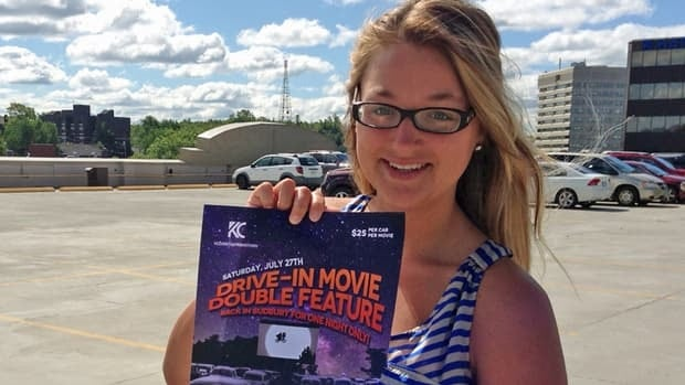 Kelsey Cutinello says she's disappointed the drive-in theatre event that was in the works was cancelled due to city zoning bylaw issues.