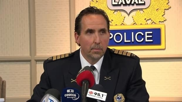 Laval Police Chief Insp. Michel Parent says more than 40 people were arrested in a drug bust Tuesday morning.