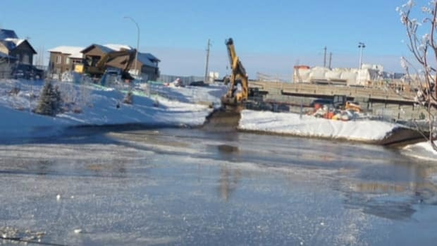 A major water main break along a regional line in Strathmore was affecting everyone in town.