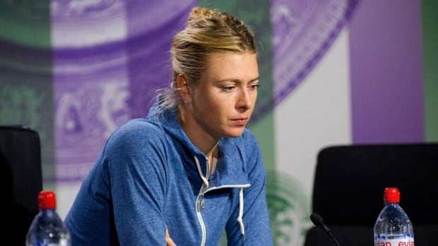 Maria Sharapova during a press conference on day three of Wimbledon on June 26, 2013 in London, England.