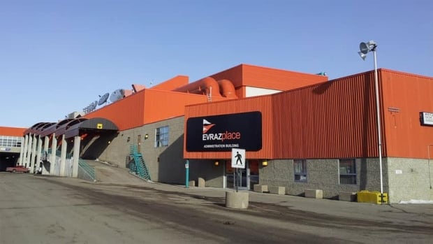 Evraz Place, west of the Regina downtown, includes Queensbury Downs, the Brandt Centre, and a variety of other venues where big events are held.