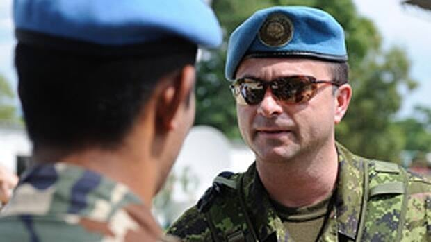 Col. Bernard Ouellette sued the Department of National Defence for $6 million, after he was  removed from his command in Haiti over allegations of an inappropriate relationship.