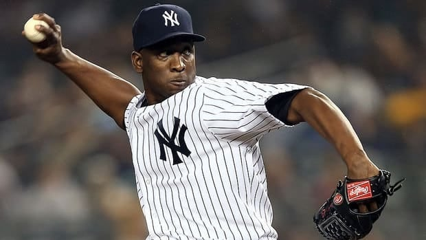 Relief pitcher Rafael Soriano was set to make $14 million US next season. Instead, the Yankees will pay him a $1.5 million buyout.