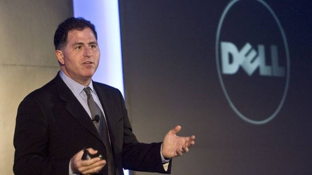 Dell CEO Michael Dell, seen here in 2008, could see his buyout offer bolstered by the company's disappointing results.