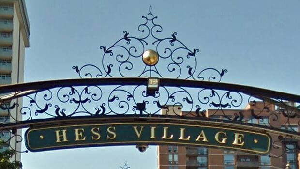 Three Hamilton men were charged after a late-night brawl in Hess Village.