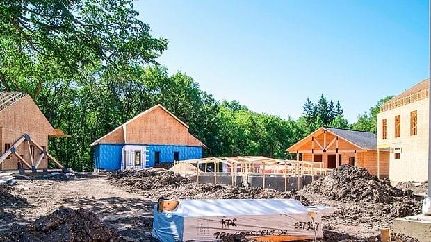 Construction is underway on a Scandinavian spa in Winnipeg.