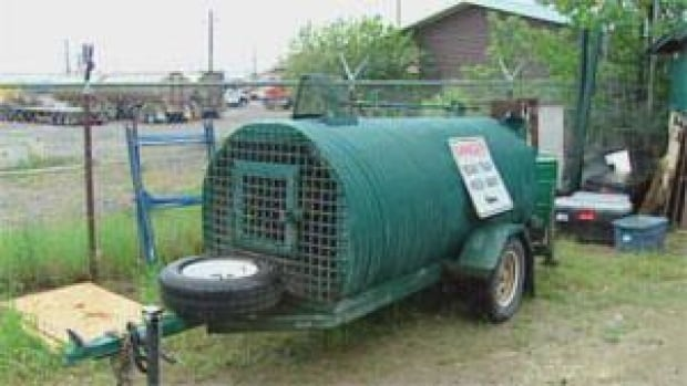 Wildlife authorities will install a bear trap similar to this one. (File)