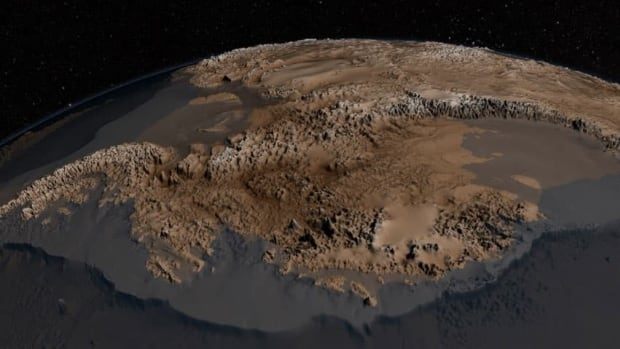 Nasa map shows what antarctica would look like without ice cbc news gumiabroncs Images