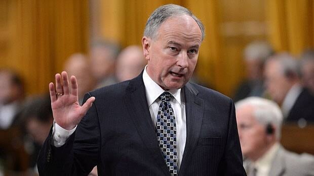 Justice Minister Rob Nicholson appeared at the justice committee on Monday where MPs are studying his bill that seeks to reform the not criminally responsible part of the Criminal Code.