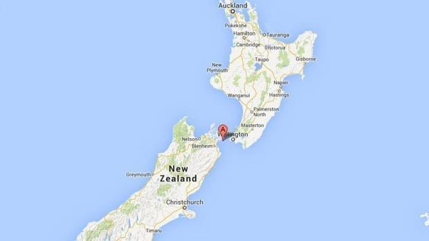 New Zealand was hit with a 6.9-magnitude quake on Sunday.