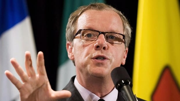 Premier Brad Wall, seen at a health-care meeting in Toronto in June, revealed the Saskatchewan Plan for Growth at a Saskatoon event hosted by the Saskatchewan Chamber of Commerce.