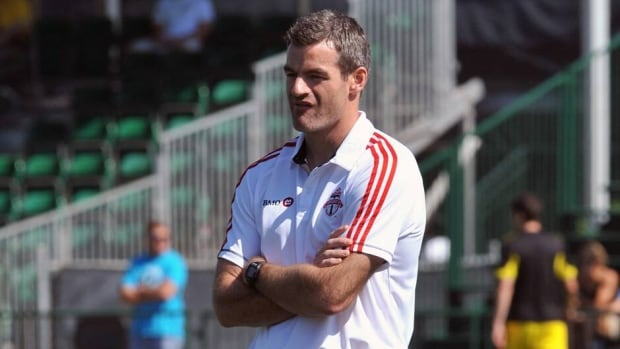 Coach Ryan Nelsen of Toronto FC on February 9, 2013 in Orlando, Florida.
