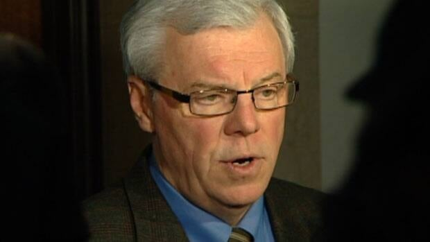 Manitoba Premier Greg Selinger was accused of violating a section of the Elections Finances Act that forbids government programs from being announced during election campaigns.