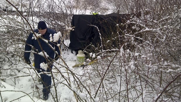 Investigators have been scouring the banks of the Renwick Brook for two days.