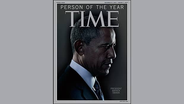 U.S. President Barack Obama, who won re-election in November, has been named Time magazine's 2012 Person of the Year.
