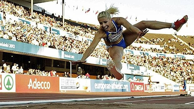 Greek triple jumper Voula Papachristou had a hard landing after her jokey tweet was deemed racist by Greece's Olympic committee and she was tossed from the team.