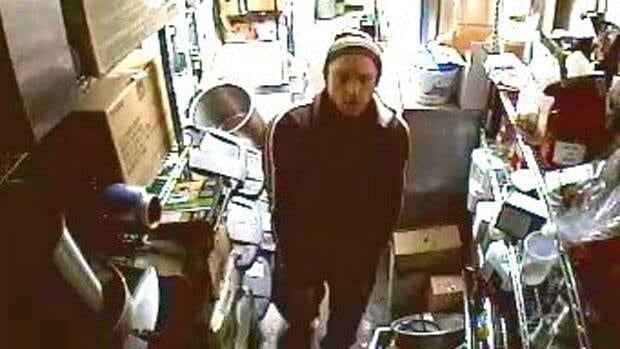 This man, who was caught on camera in the process of robbing one Ottawa restaurant, was recognized by the owner of a nearby restaurant robbed about an hour before.