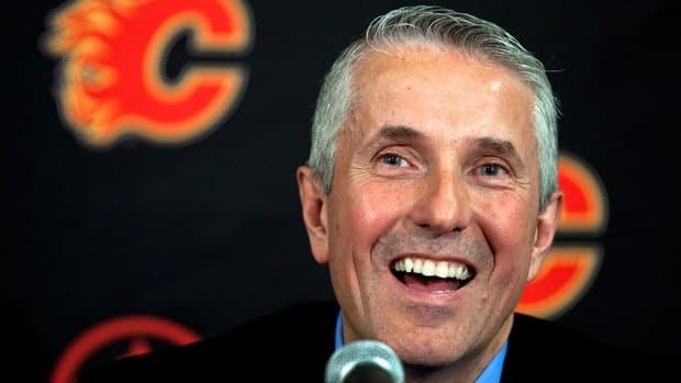 Bob Hartley was hired as the Calgary Flames' head coach on on May 31.