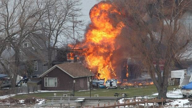 The shooting death of two firefighters in Webster, N.Y., started when they responded to a call that a house was on fire on Monday. Former convict William Spengler apparently set the house and a car on fire in his neighbourhood to lure first responders to the area, and then opened fire on them.