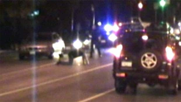 A video obtained by CBC News showed Boyd on his hands and knees when he was shot.