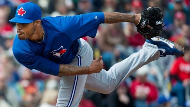 Toronto Blue Jays pitcher Sergio Santos has been on the disabled list since April 15 with a right triceps strain.