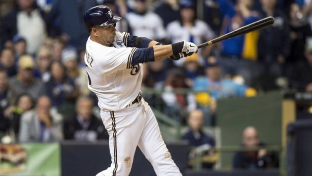 Milwaukee Brewers third baseman Aramis Ramirez was 5 for 13 with three doubles in the first four games of the season.