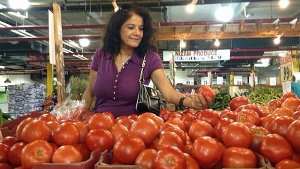 Maha Dabavneh moved from Jordan one year ago and said she was surprised and overwhelmed by how much prepared food Canadians eat.
