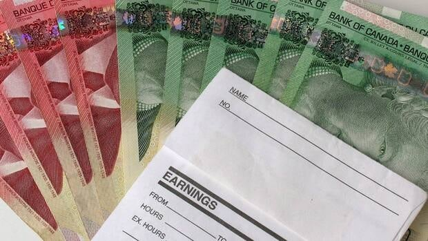 The size of the average weekly paycheque grew slightly in June and was 2.6 per cent higher than the same time last year.