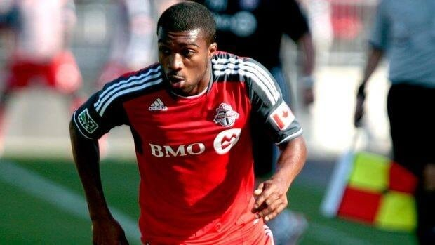 Toronto FC's Ashtone Morgan has appeared in 29 league matches, starting 23 of those, and has five assists.