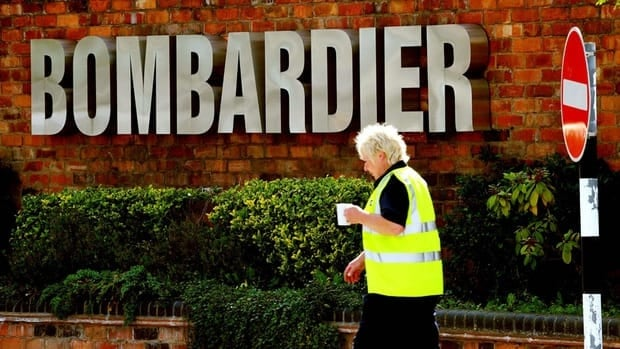 Bombardier has threatened to close its train manufacturing plant in Derby, England, above, if it does not win the Crossrail contract. Its prospects for winning the bid for that project improved significantly with the withdrawal Friday of its major competitor Siemens.