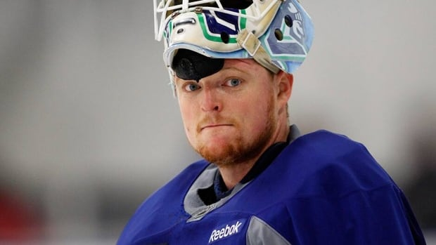 Goaltender Cory Schneider has two years left on a contract that counts $4 million US against the NHL's salary cap.