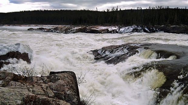 Muskrat Falls is seen at the Churchill River in central Labrador in this undated file photograph. It is the site of the proposed Lower Churchill hydro project.