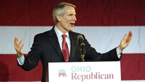 U.S. Sen. Rob Portman voted in 1996 in favour of the Defence of Marriage Act, which defines marriage as between a man and a woman and bars federal recognition of same-sex marriage.