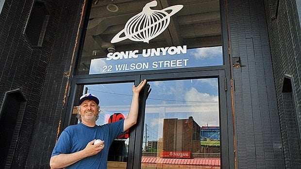 Lane Dunlop has just joined the team at Sonic Unyon records.