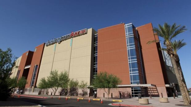 A general view of the Jobing.com Arena on May 15, 2012 in Phoenix, Arizona.
