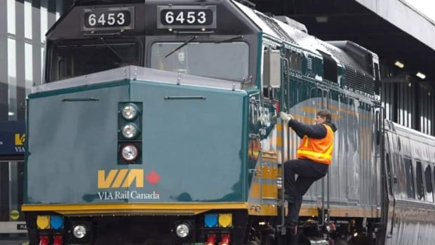 Via Rail presented a two per-cent wage increase to workers, but the union argues employees will get paid less because of a proposal for higher pension contributions. The union says a strike could be imminent on Friday.