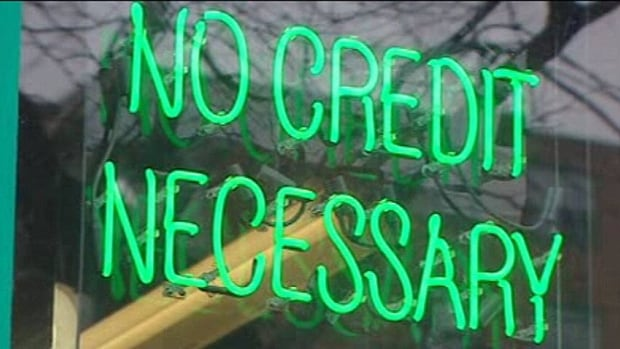 A report from the Canadian Centre for Policy Alternatives highlights a survey which suggests most payday loan users don't have access to credit from banks.