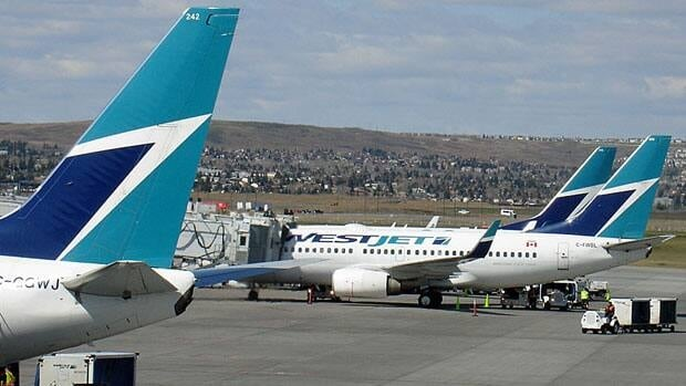 WestJet's planes flew 82.6 per cent full in November, up from 77.6 per cent in the same period a year ago.