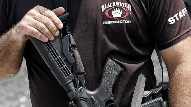 Court documents reveal the company formerly known as Blackwater trained Canadian forces and police officers without permission from the U.S. State Department.