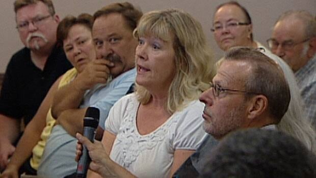 More than 100 Mill Woods residents packed a meeting to find out what the city is doing to prevent flooding in heavy rainstorms.