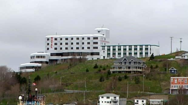 The Battery Hotel in St. John's.